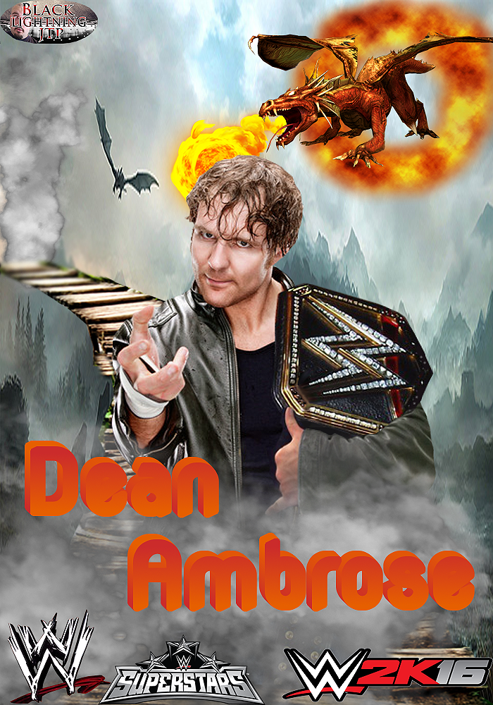 hope you all enjoy this awesome fantasy dean ambrose poster i