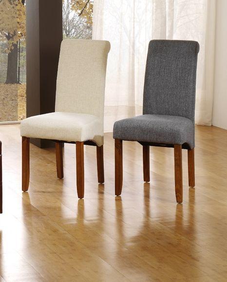 resultado de imagen para sillas comedor modernas gris - Sillas De Salon Modernas