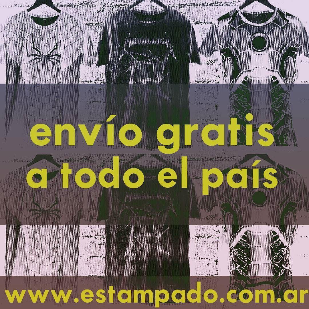 #enviogratis a todo el #pais en  www.estampado.com.ar