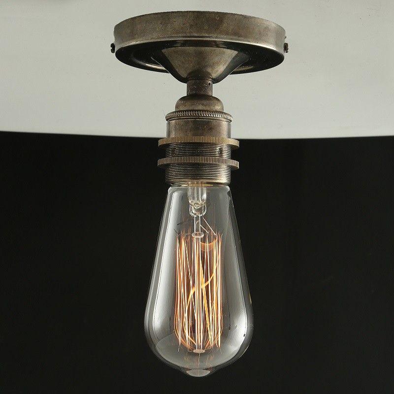 Bexter vintage flush ceiling light by mullan lighting