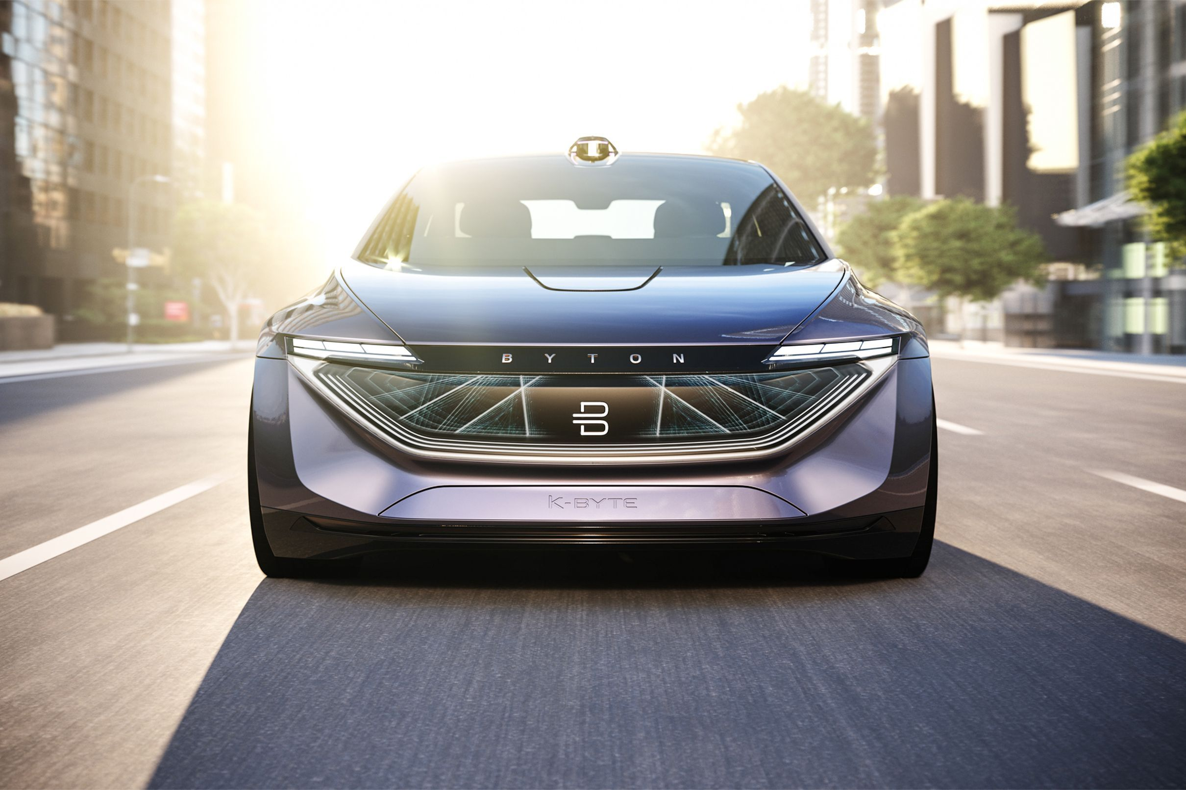 Byton teases a fully autonomous electric sedan due in 2021