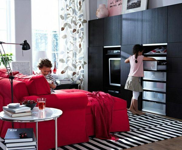 25 Wohnzimmer Design Ideen von IKEA #design #ideen #wohnzimmer - wohnzimmer ideen ikea