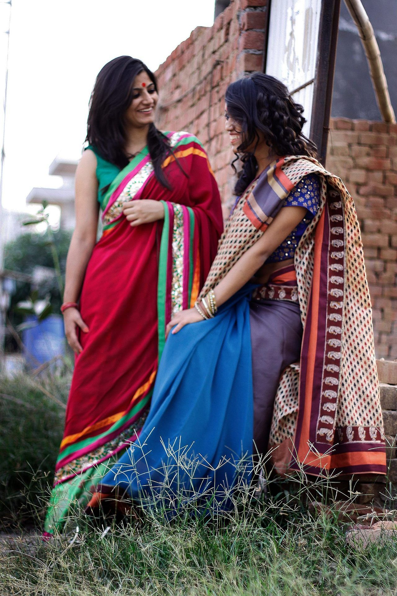 Beautiful & Simple Colourful #Sarees. | All things Indian ...