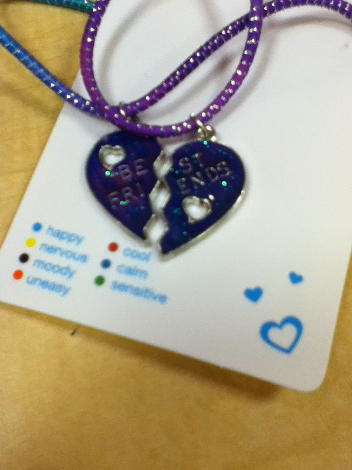 Mood Necklace Mood Necklace Pinterest Bff And Mood Rings