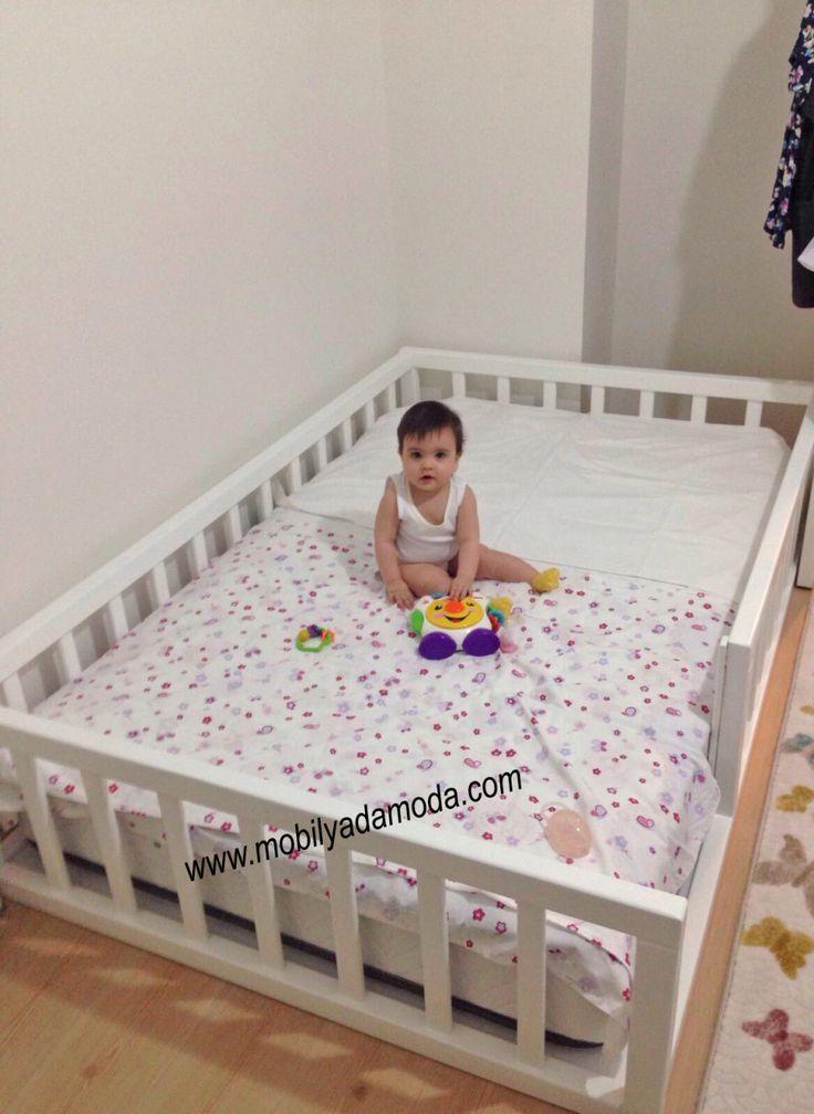 Montessori Flooring Mattress ohne Dach 120x190 Kinder