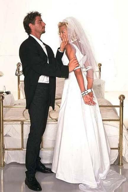 Bondage wedding pics