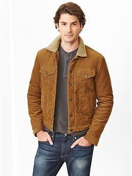 1969 Sherpa Cord Denim Jacket Style Pinterest Jackets Fall