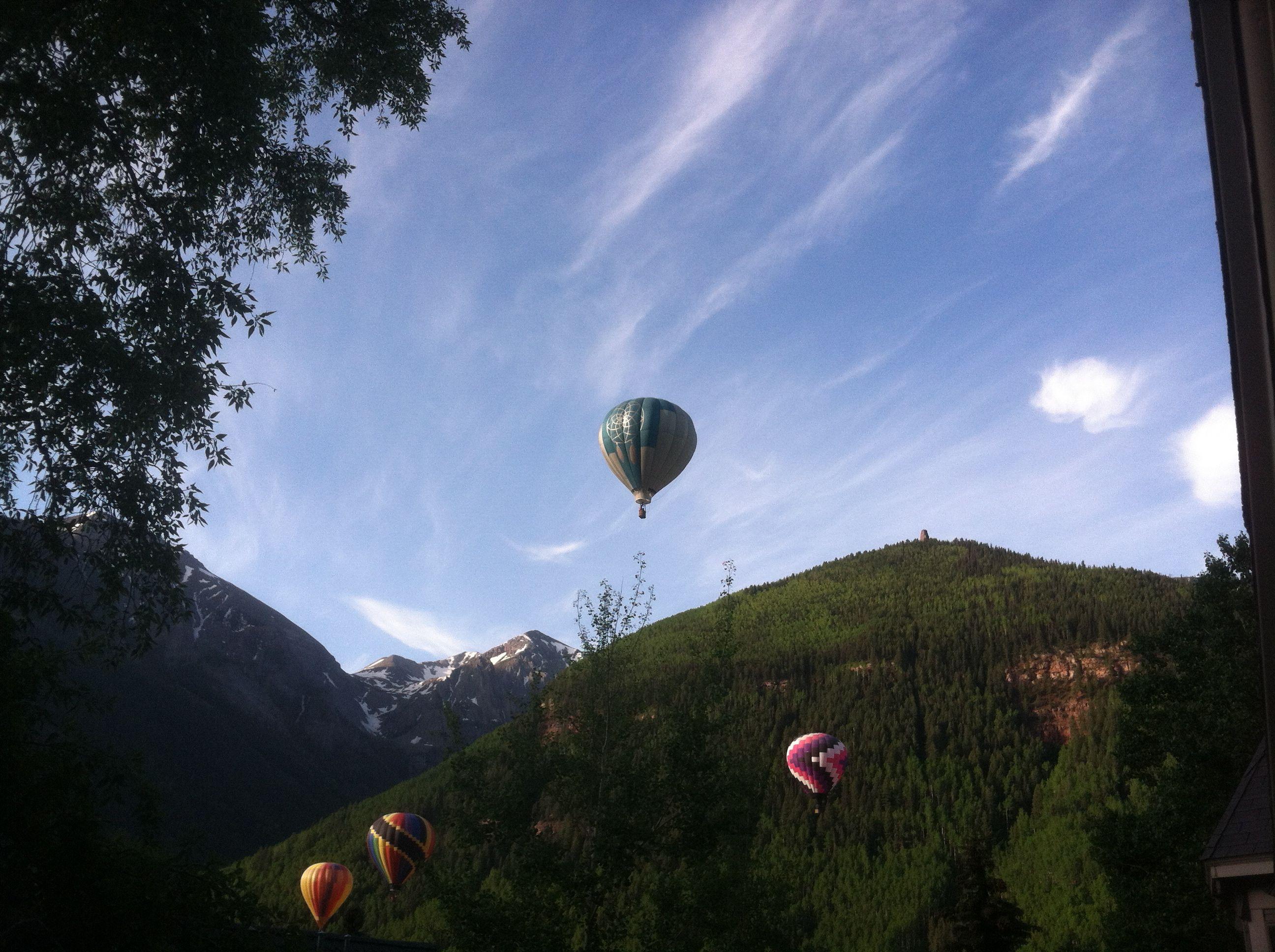 Telluride Hot Air Balloon Festival- June