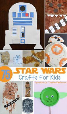 Star Wars Crafts For Kids Star Wars Party Pinterest Crafts For