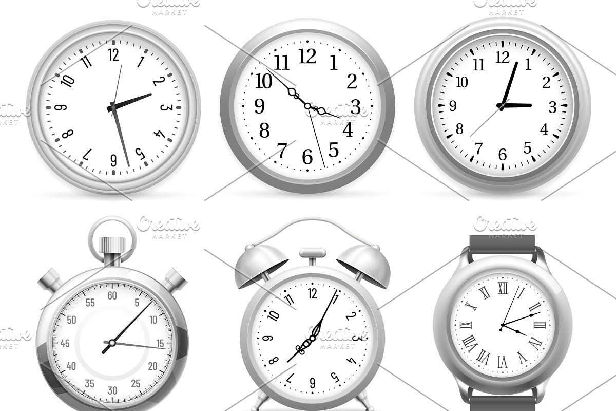 Flip Clock Numbers Retro Countdown In