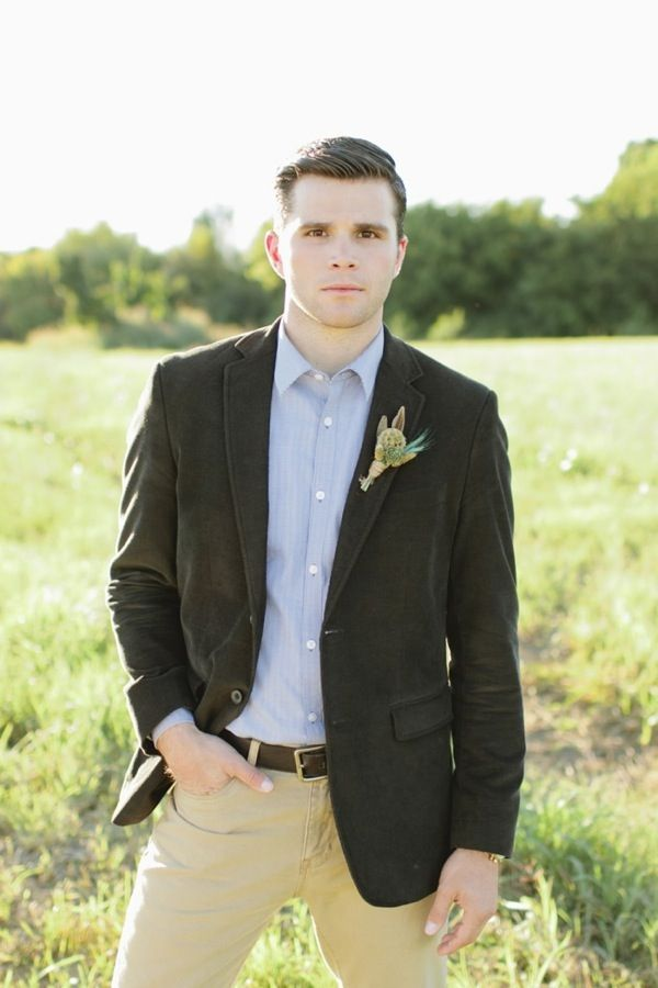 Vibrant Desert Wedding Inspiration | Casual grooms, Groom style and ...