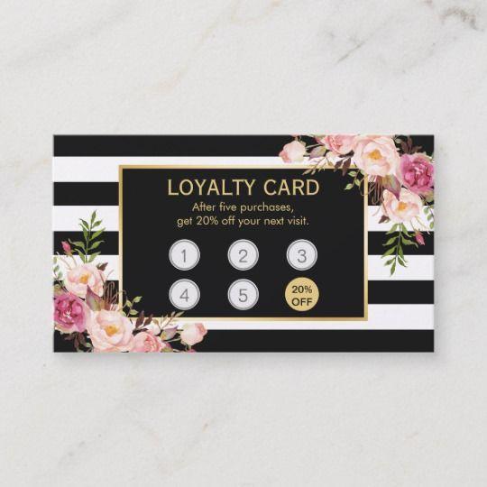 Loyalty Card Vintage Gold Floral Beauty Salon Zazzle Com Beauty Salon Business Cards Salon Business Cards Beauty Salon Decor