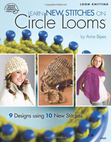 Free Knifty Knitter Round Loom Patterns Crochet 1 Round Loom