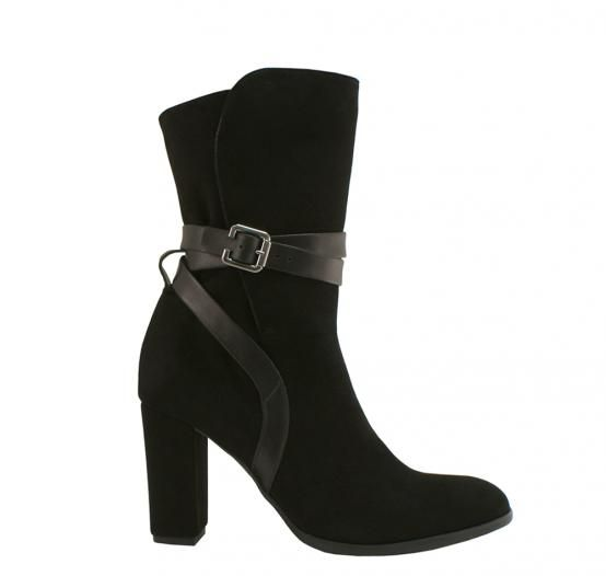 Botek 604 Hammer Producent Obuwia Damskiego Heels Boots Ankle Boot