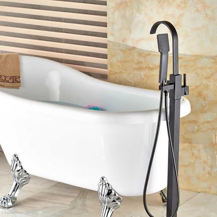 2018 wholesale and retail oil rubbed bronze solid brass bathroom tub