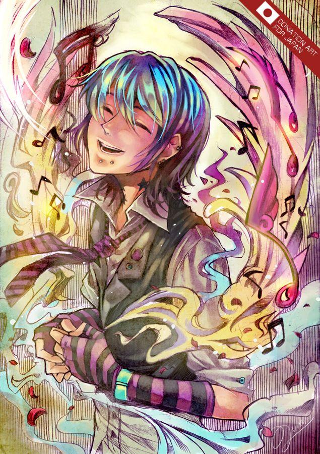 DAJ-Magic Melody by lunarlunatic.deviantart.com on @deviantART