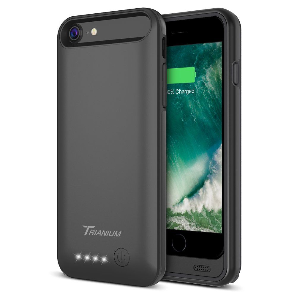 brand new 79bb0 c51fb iPhone 8 / 7 Battery Case, Trianium Atomic Pro 3200mAh Extended ...
