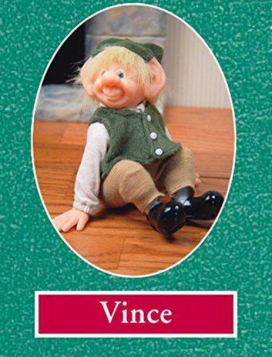 6 Zims The Elves Themselves Vince Collectible Christmas Elf Figure *** Click image for more details.