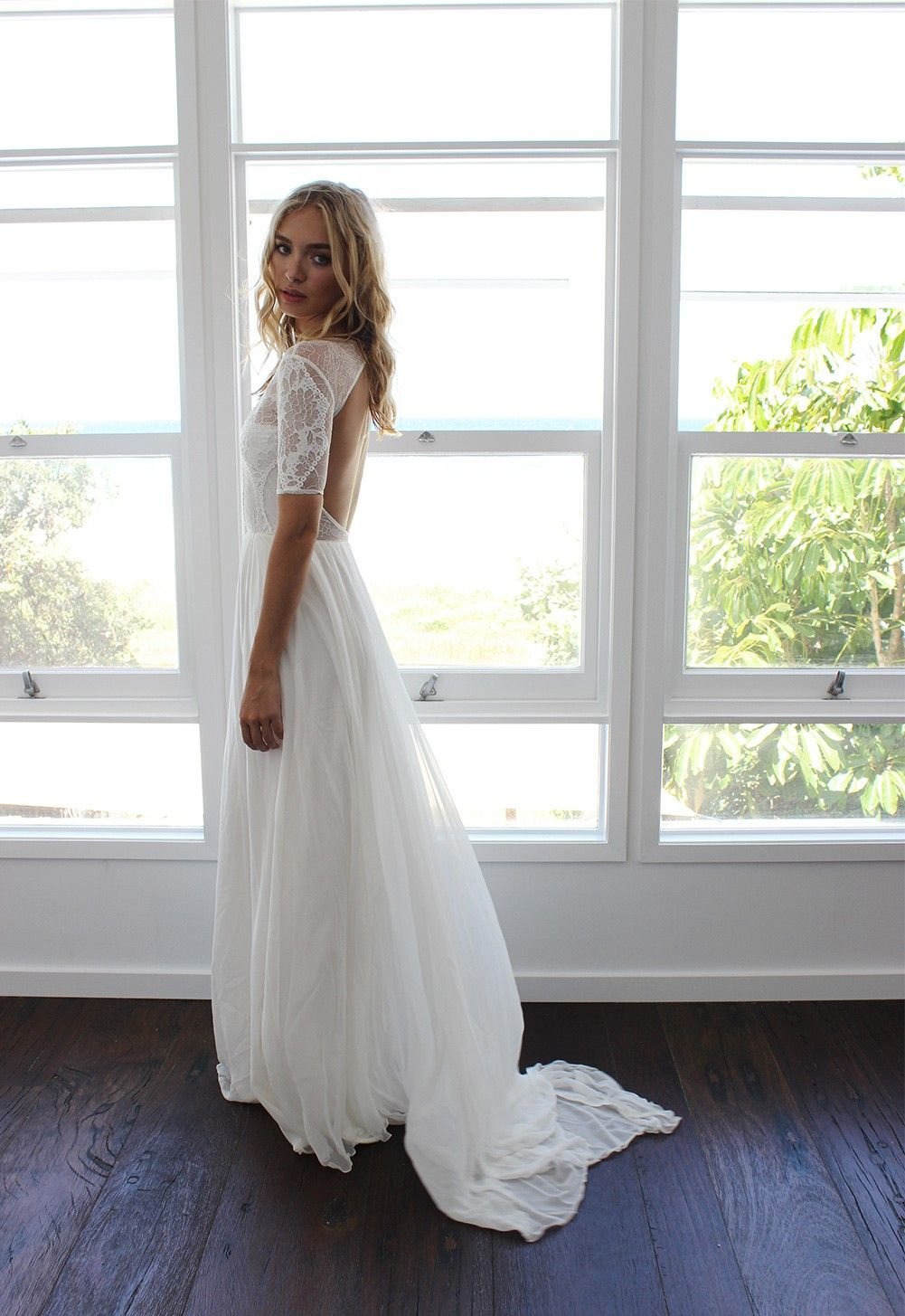 Venetian style bridesmaid dresses