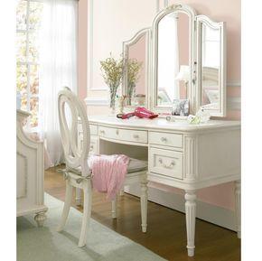 Rosalie Kids Bedroom Vanity Mirror White