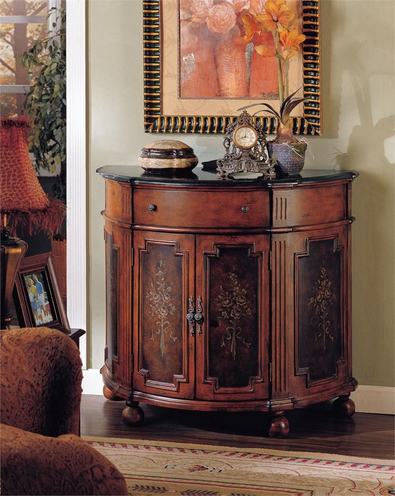 Furniture Half Round Accent Chest With Cabinet Drawers And Wheels In The Hallway Ideas Accent Chests With Drawers Home Decor Furniture Console Chest