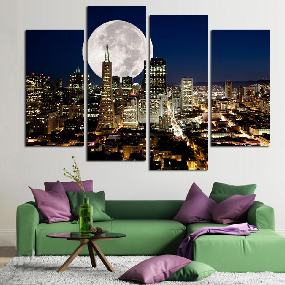 39++ Large canvas pictures for living room ideas