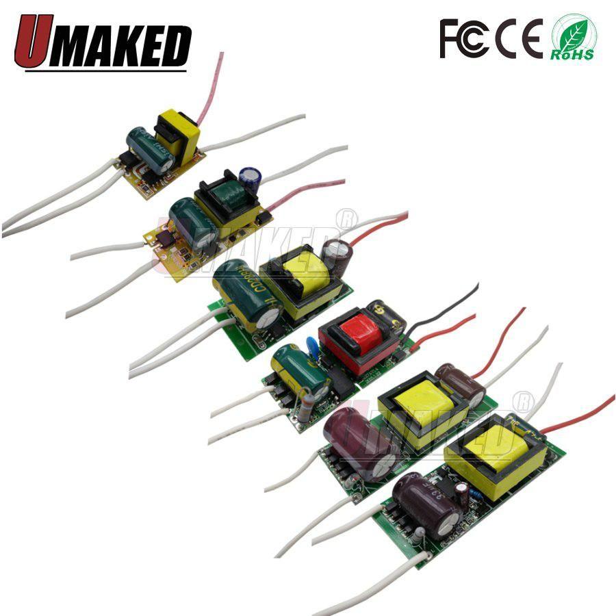 Led Driver Constant Current Lamp Power Supply 280ma 300ma 1w 3w 5w Circuit 7w 9w 10w 20w