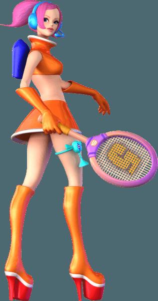 Ulala From Sega Superstars Tennis Biggest Sonic Gallery Online Http Sonicscene Net Media And Downloads Official Artwork Sega Superstar Space Channel
