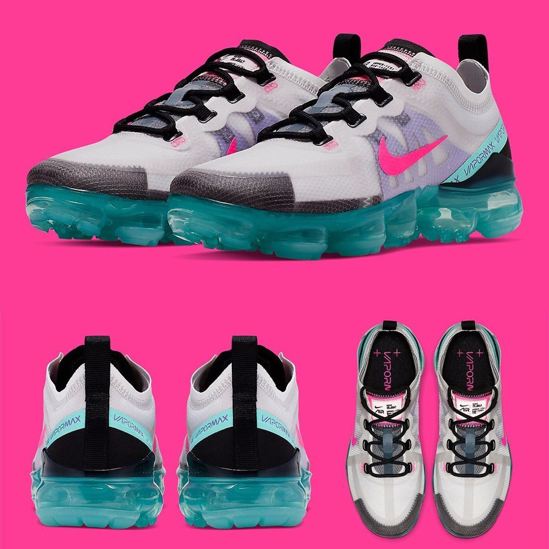 """Nike Vapormax 2019 Wmns """"South Beach"""" Style Colorway"""