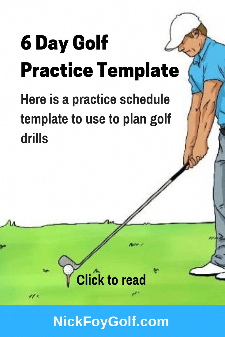 Golf Practice Schedule Template from i.pinimg.com