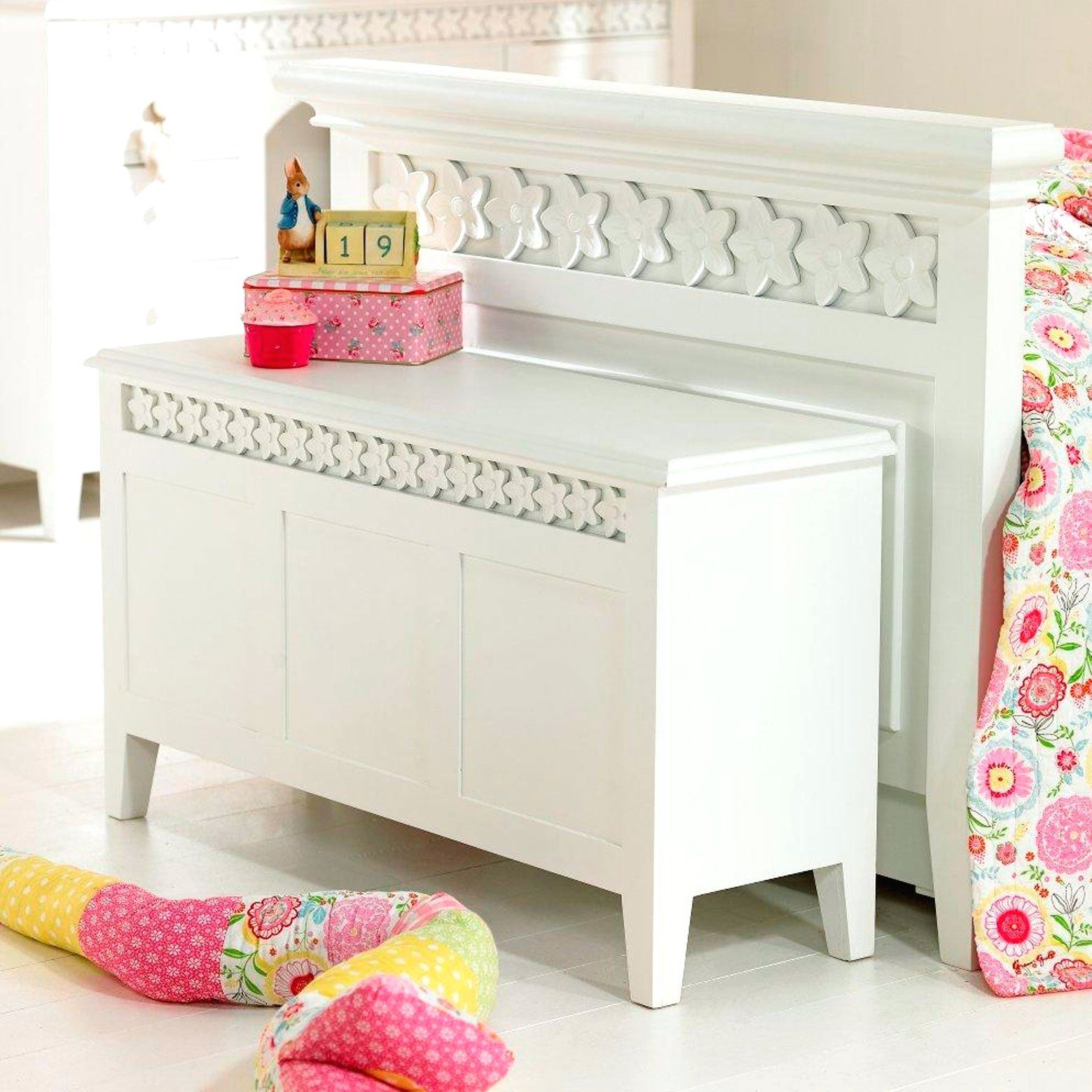 Long Thin Blanket Box Long Blanket Box Extra Long Blanket ...