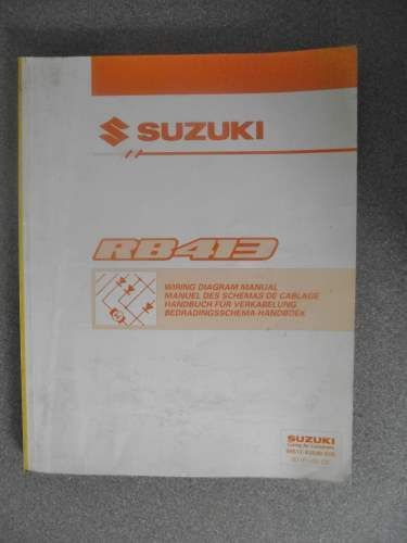 Suzuki Wagon R Rb413 Wiring Diagram Manual 1999