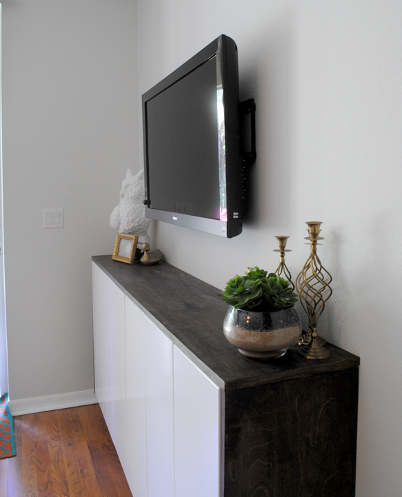 Discontinued Ikea Kitchen Cabinet Doors: DIY Fauxdenza With Upper Kitchen Cabinets And Stained