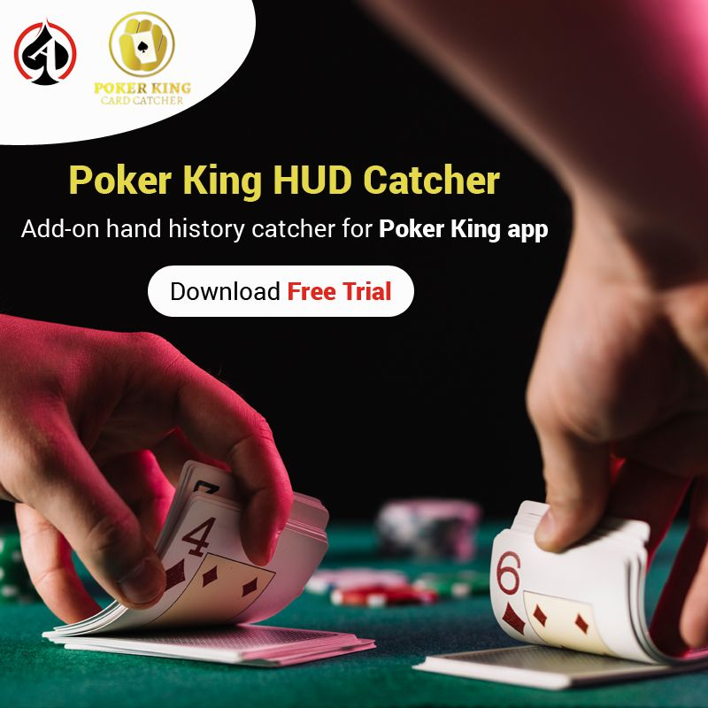 Start Tracking Your Poker King Games With Poker King Hud Catcher King Card King App Poker King