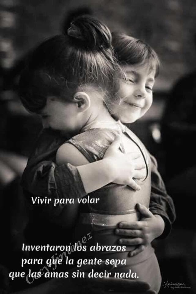 Inventaron los abrazos para que la gente sepa que las amas sin decir nada. ❤️