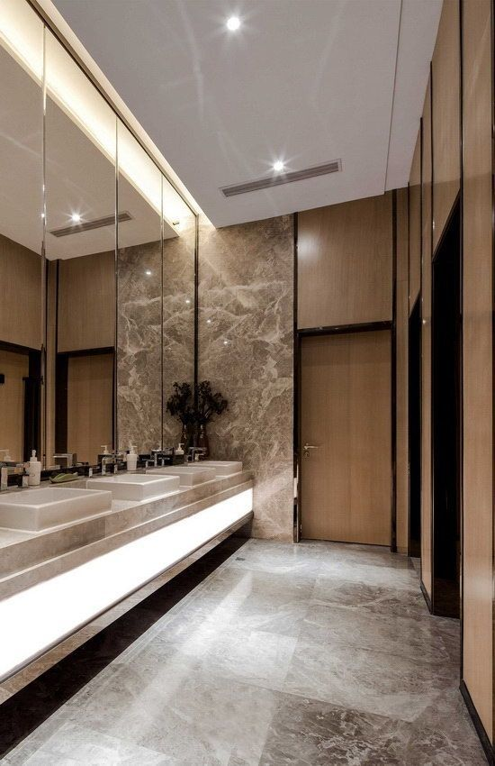 Public Restaurant Restroom Design And Modern Toilet Design