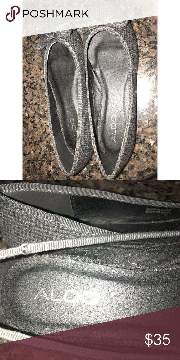 fcc153f99da3 Aldo flats Aldo flats size 37 dark grey new Aldo Shoes Flats & Loafers