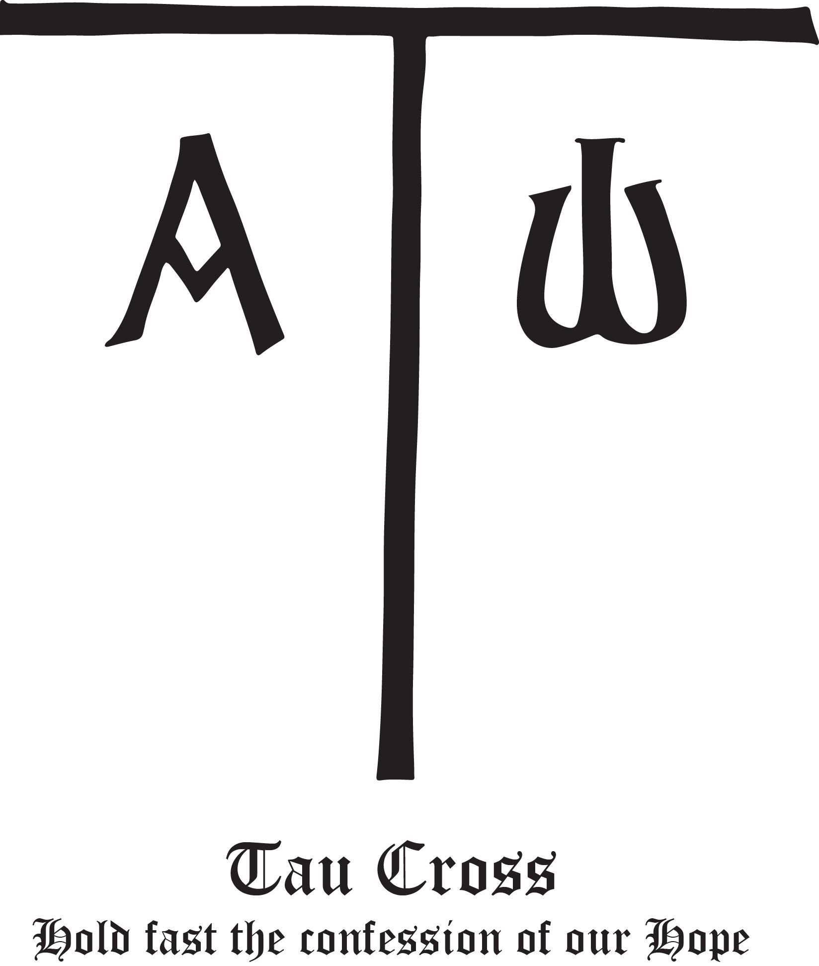 Rudolf koch christian symbol 111 tau cross symbols show your support for your faith with rudolf kochs christian symbols these gorgeous and eternally biocorpaavc Gallery
