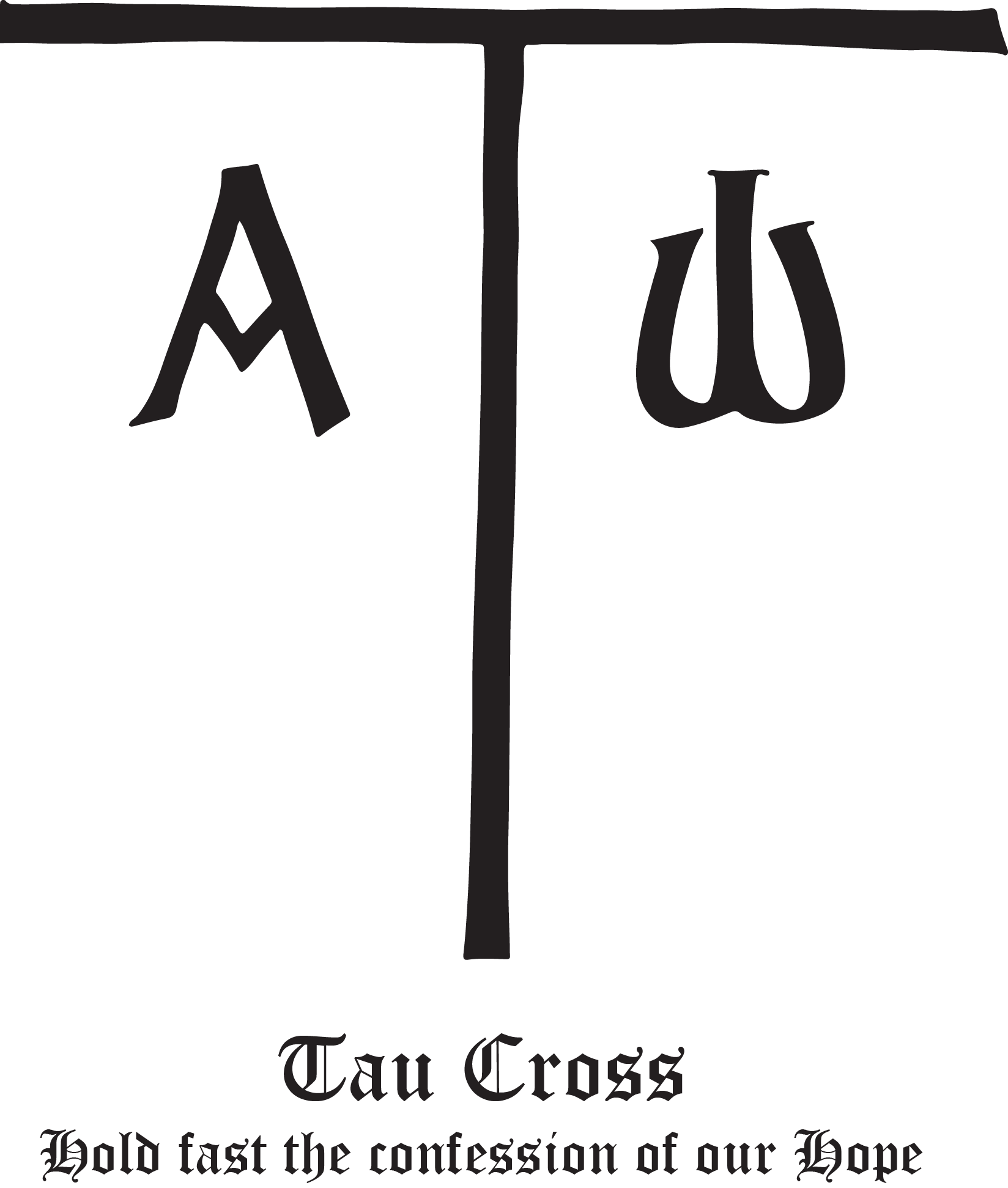 Rudolf Koch Christian Symbol 111 Tau Cross Tattoo Ideas