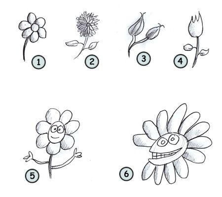Flowers Drawing Easy at GetDrawings.com | Free for ...