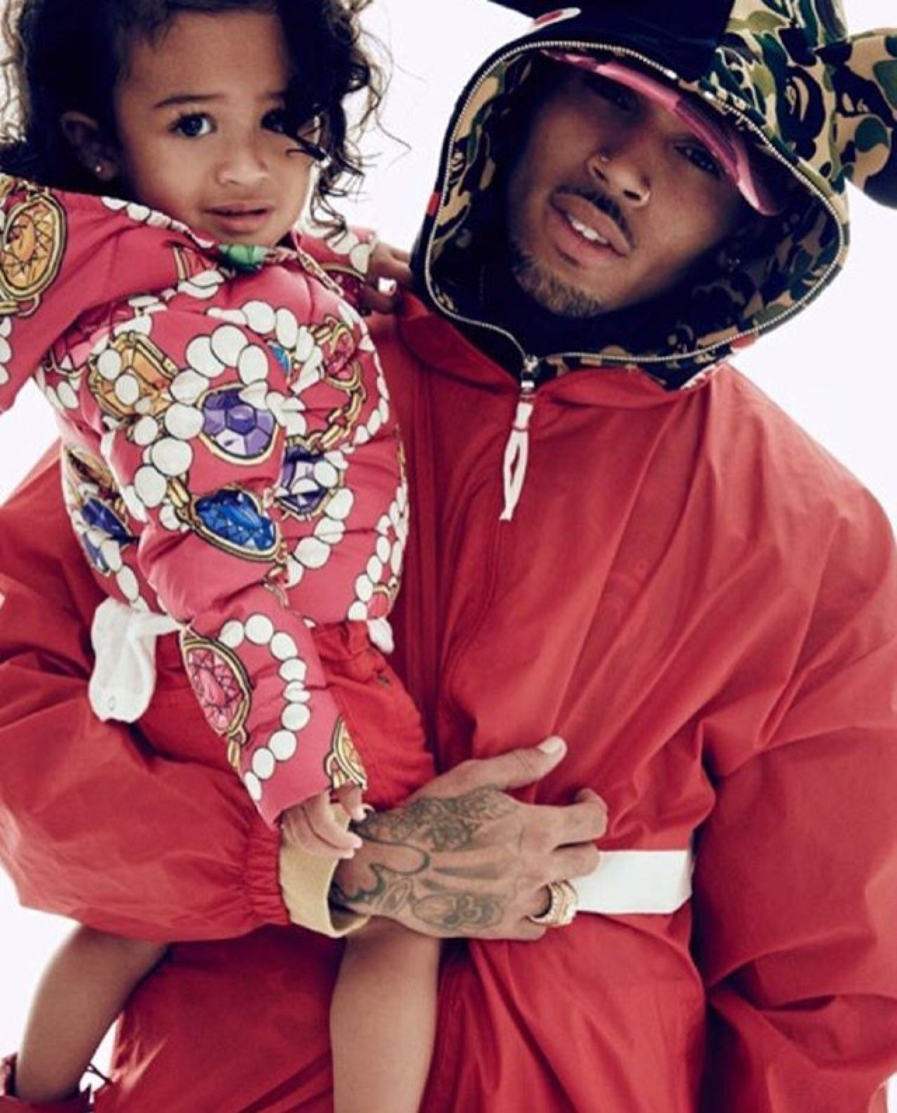 chris brown daughter - HD 1280×1588
