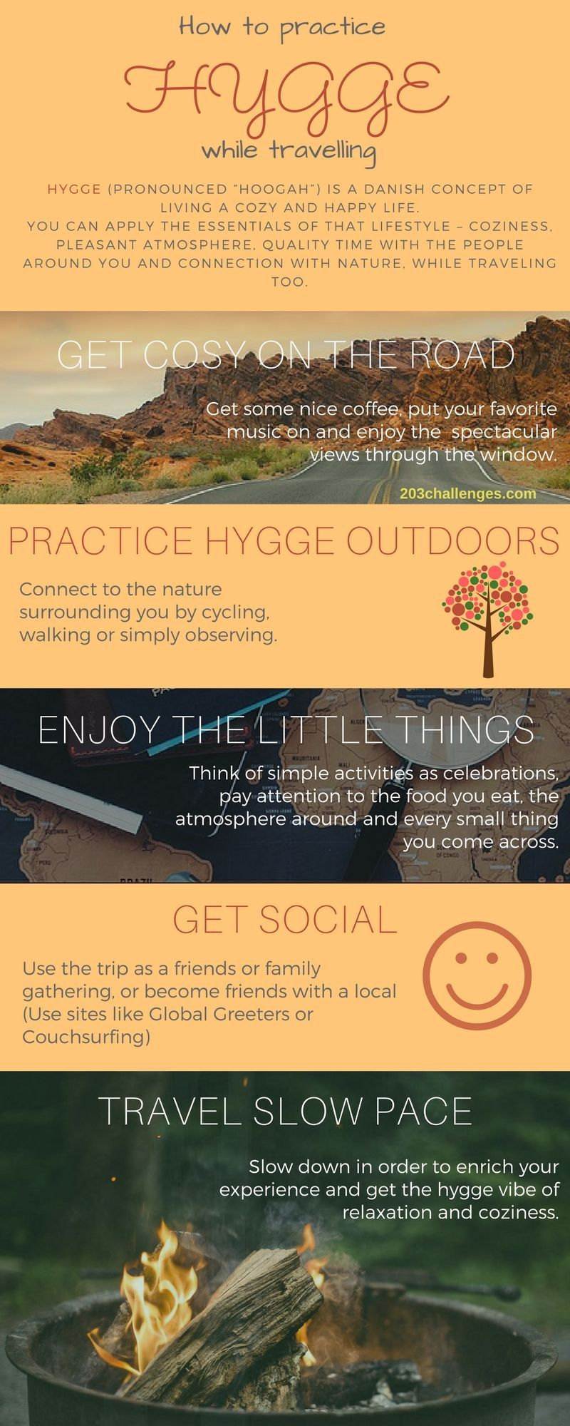 Hygge: how to apply the Danish cozy lifestyle to traveling (INFOGRAPHIC) #style #shopping #styles #outfit #pretty #girl #girls #beauty #beautiful #me #cute #stylish #photooftheday #swag #dress #shoes #diy #design #fashion #Travel