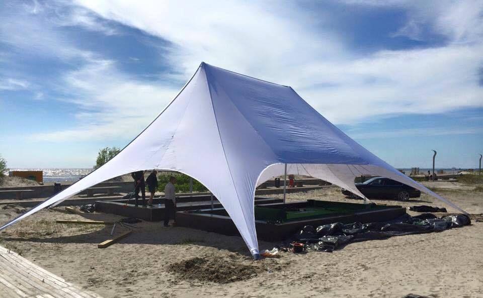 Star tent with no print. http://www.kingiagentuur.ee/en ...