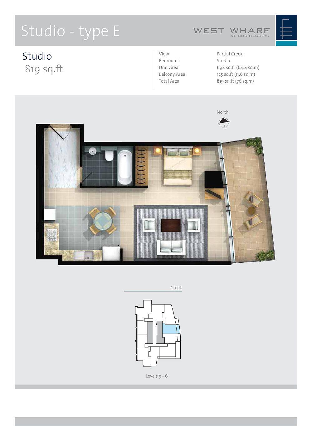 West Wharf Floorplans Business Bay Dubai