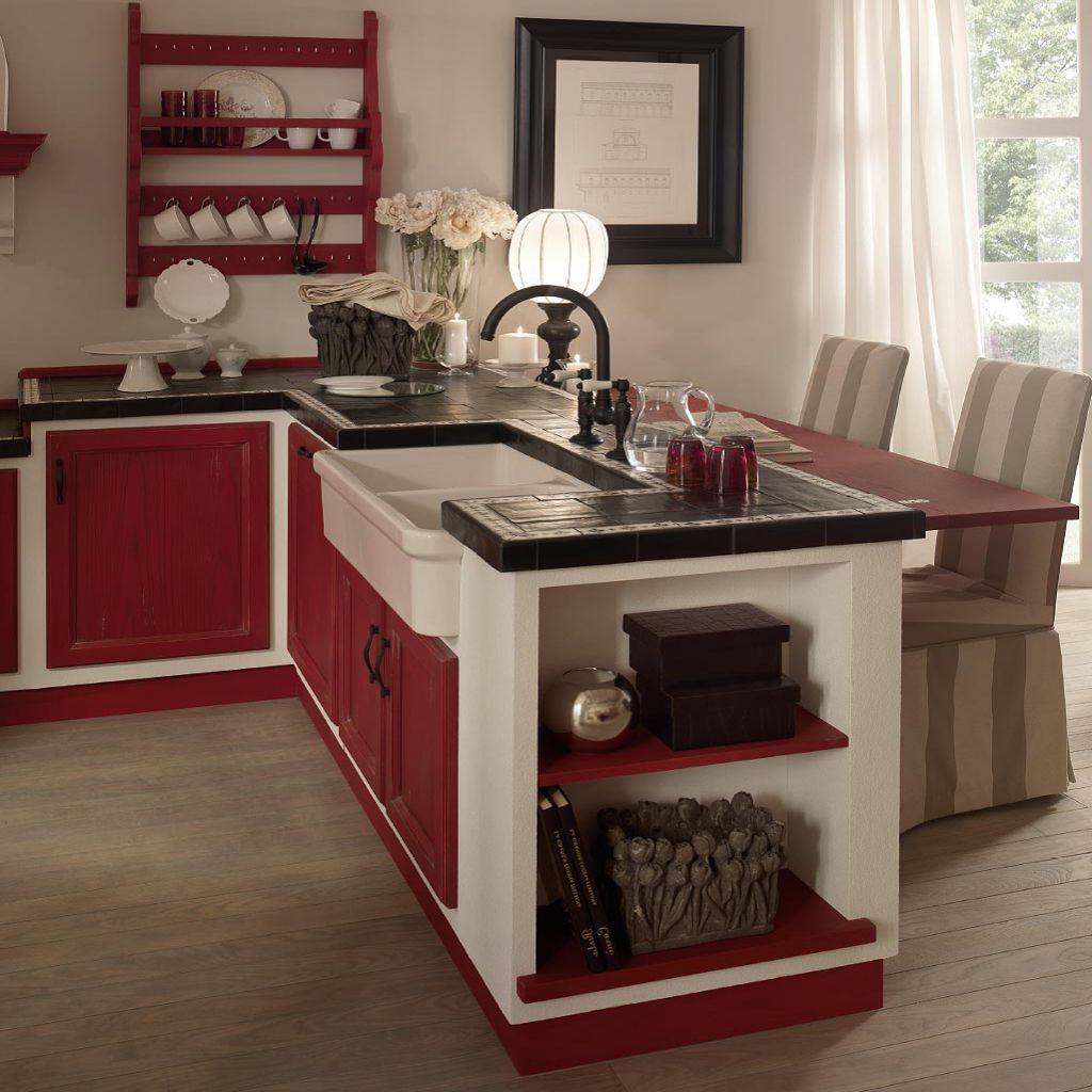 Risultati immagini per cucina in muratura ikea | Casetta | Pinterest