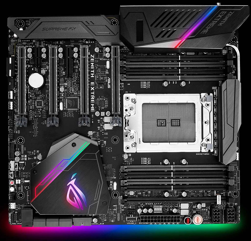 Asus Zenith Extreme X399 Motherboard For AMD's Threadripper