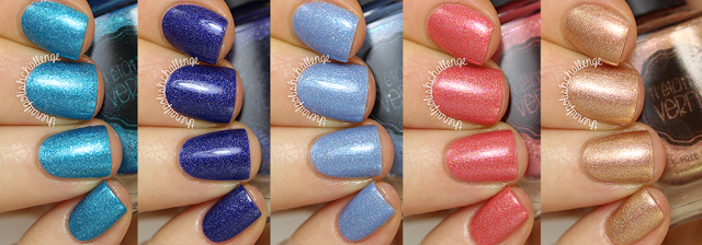 The Nail Polish Challenge: Il Etait Un Vernis Vegetal Collection Swatches and Review
