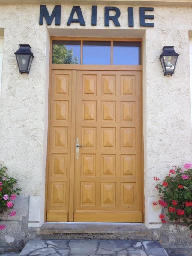 Porte d 39 entr e tierc e panneaux pointe de diamant avec - Carreau porte vitree ...