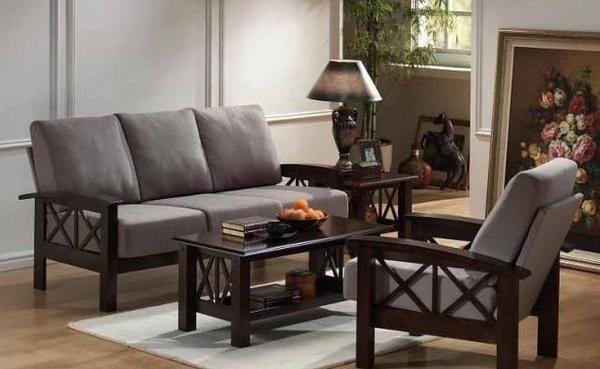 Solid Wood Criss Sofa Set B Wooden Sofa Designs Sofa Design Wooden Sofa Set