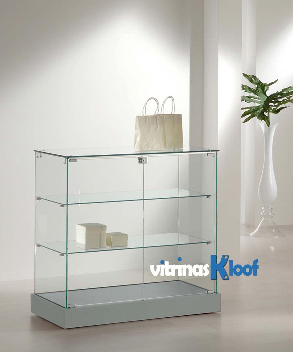 Vitrinas kloof mostrador vitrina de 600 de fondo 20 al - Vitrinas pequenas ...
